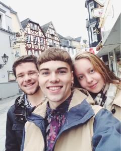 JT, Malte und Anna (von links nach rechts)
