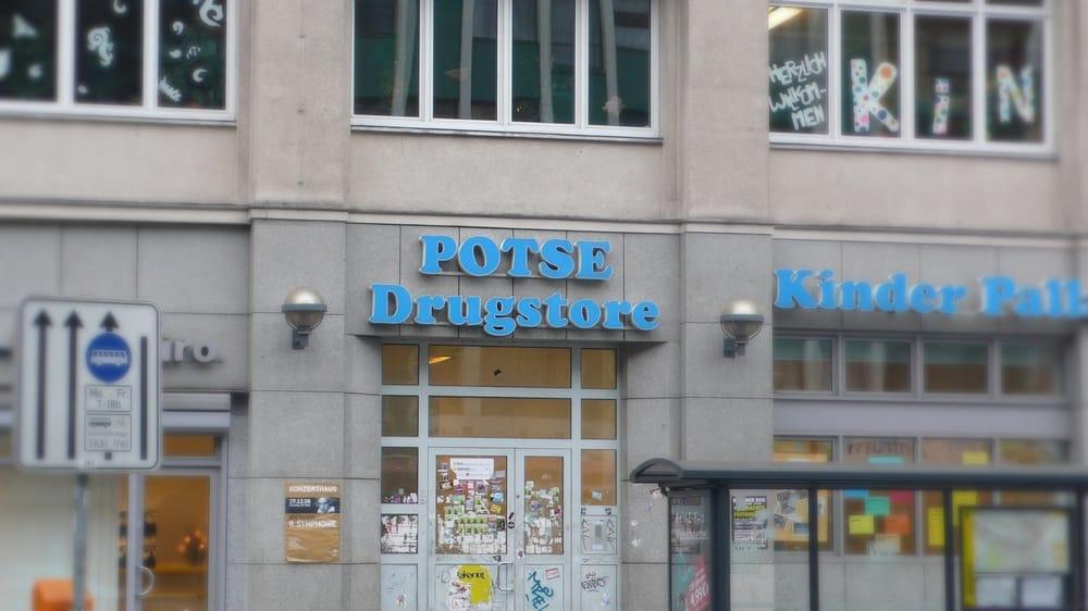 Jugendclub drugstore in der Potsdamer straße