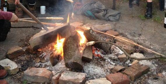 4. Feuerstelle: Auf in den Frühling! von Sarah