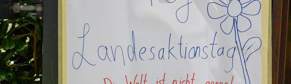 Der Landesaktionstag der Berliner FÖJler*innen 2017..